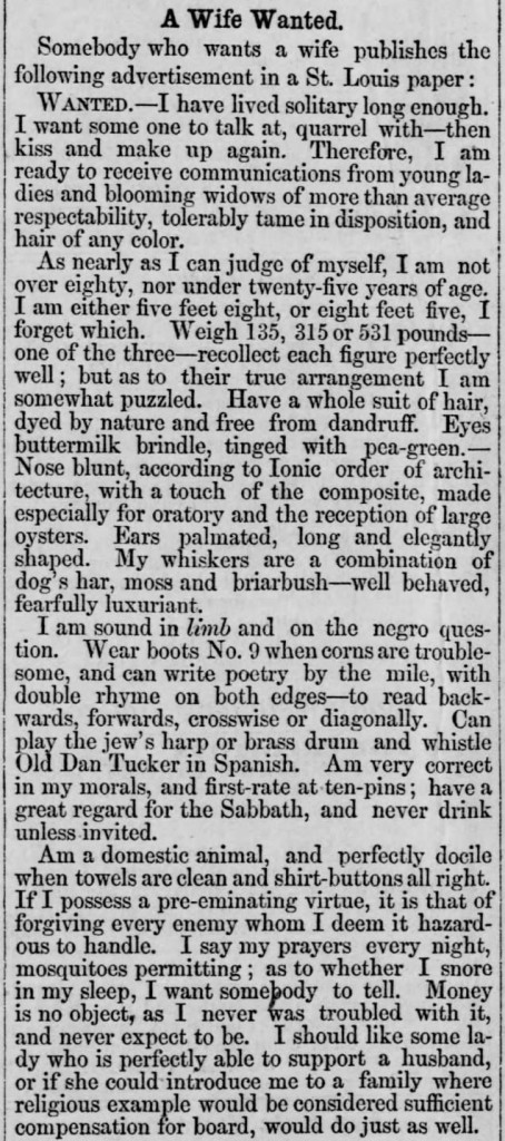 Staunton Spectator (Staunton, Virginia), April 24, 1866