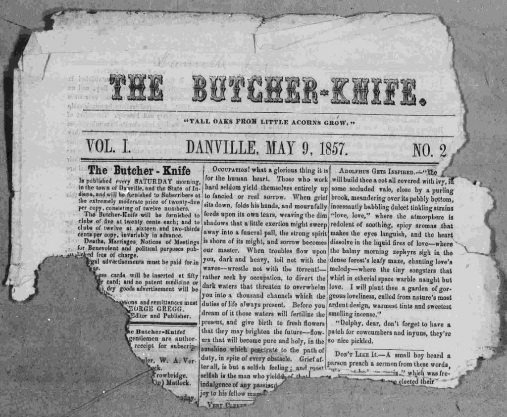 The Butcher Knife 2