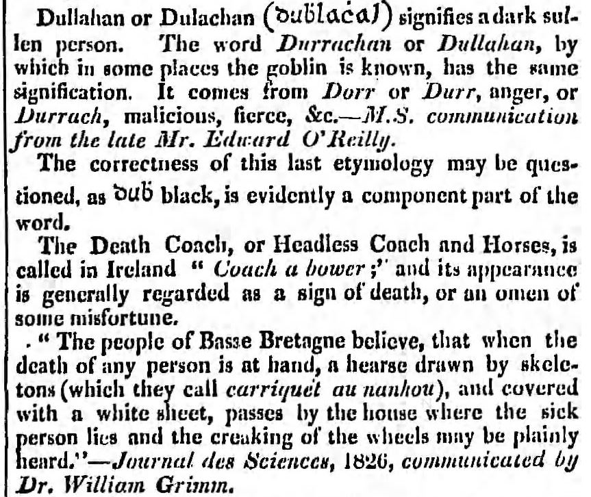 The Dublin Penny Journal, November 22, 1834