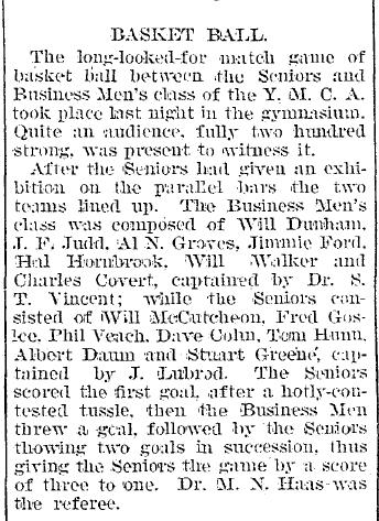 Evansville Journal, 14 February 1893