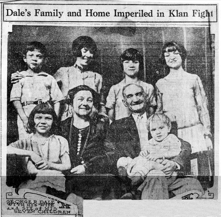 George R. Dale and Family