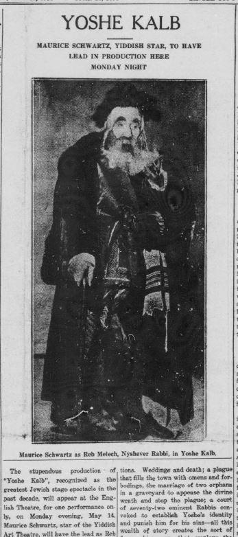 Jewish Post, May 11, 1934