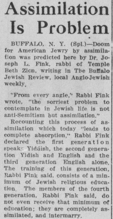 Jewish Post, May 15, 1936