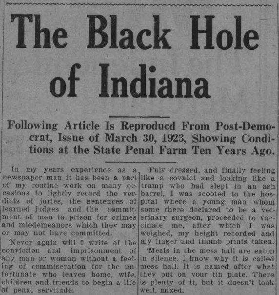 Muncie Post-Democrat, July 14, 1933