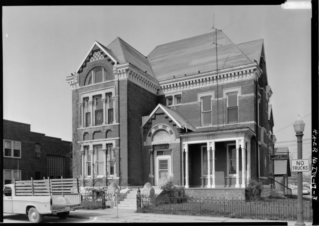 Crawfordsville Rotary Jail -- Library of Congress Photographs Division (5)