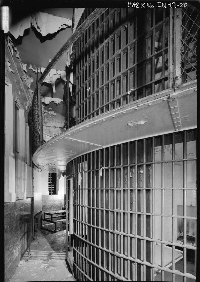 Crawfordsville Rotary Jail -- Library of Congress Photographs Division