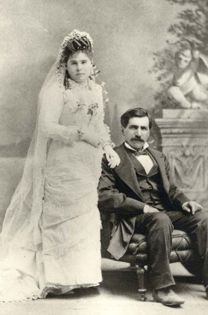 Hadji Ali and Bride, Tucson