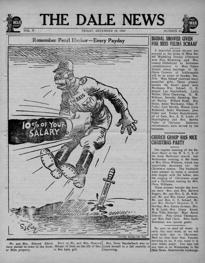 Dale News, December 18, 1942