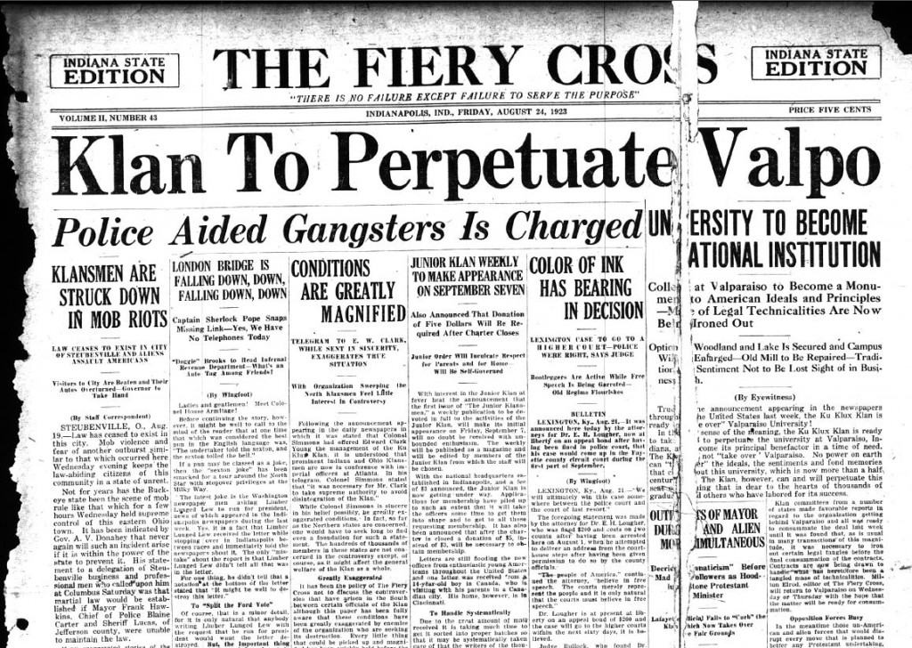 Fiery Cross, August 24, 1923