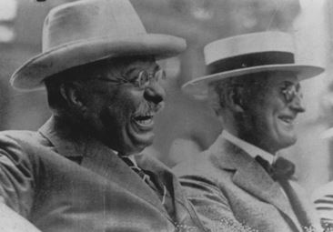 Goodrich with Theodore Roosevelt, 1918