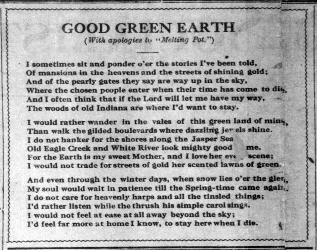 Indiana Socialist, July 5, 1913
