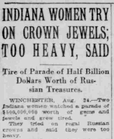 South Bend News-Times, August 25, 1922