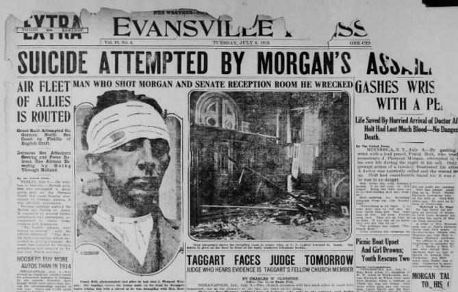 Evansville Press, July 6, 1915