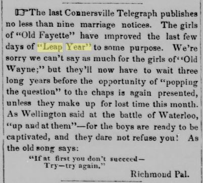 Indiana American, Brookville, December 15, 1848