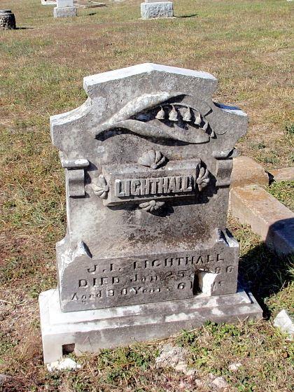 Lighthall grave