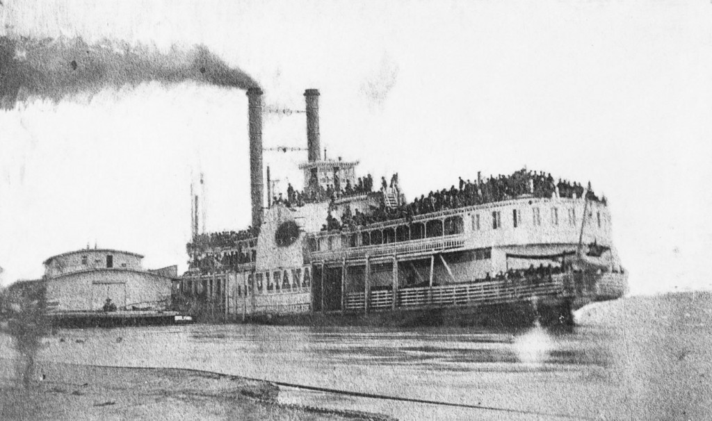 Sultana at Helena, Arkansas, April 26, 1865