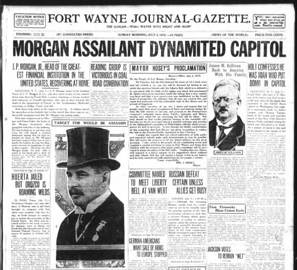 The Fort Wayne Journal-Gazette, July 4, 1915