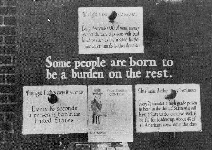 U.S. Eugenics Advocacy Poster, 1926