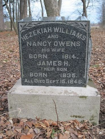 Williams gravestone