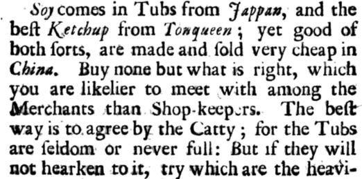 Charles Lockyer, An Account of Trade in India (1711)