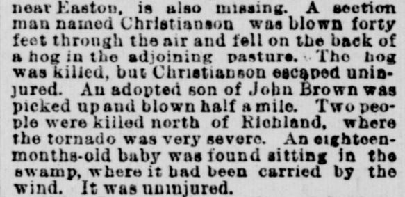 Southeastern Minnesota -- Indianapolis Journal, June 18, 1892