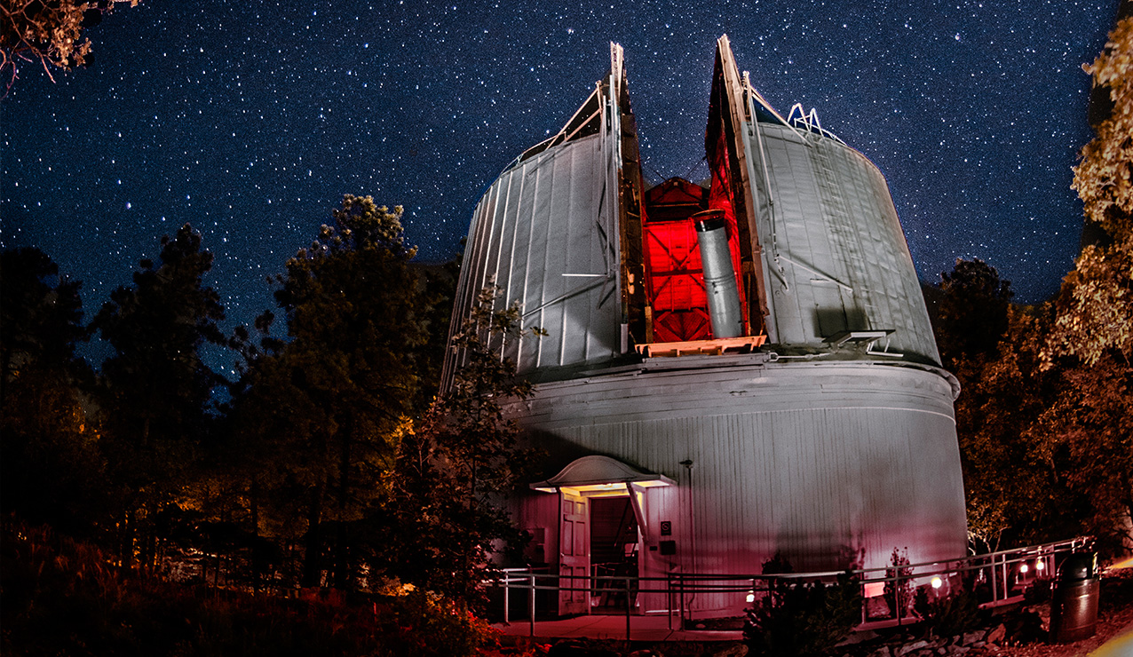 Lowell Observatory. Courtesy of the Wall Street Journal/State of Arizona.