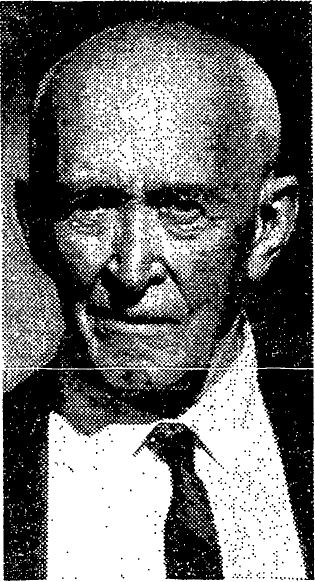 Slipher in his later years. Courtesy of the New York Times.