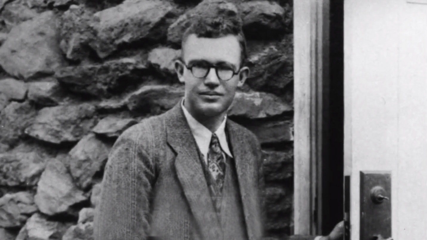 Clyde Tombaugh, the discoverer of Pluto. He was assisted by Slipher in his discovery. Courtesy of NASA.
