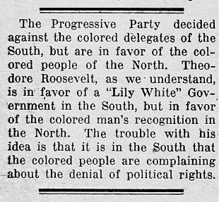 The Greenfield Republican, August 8, 1912. Courtesy of Hoosier State Chronicles.