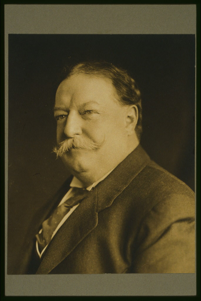 President William Howard Taft, circa 1909. Courtesy of the Library of Congress.