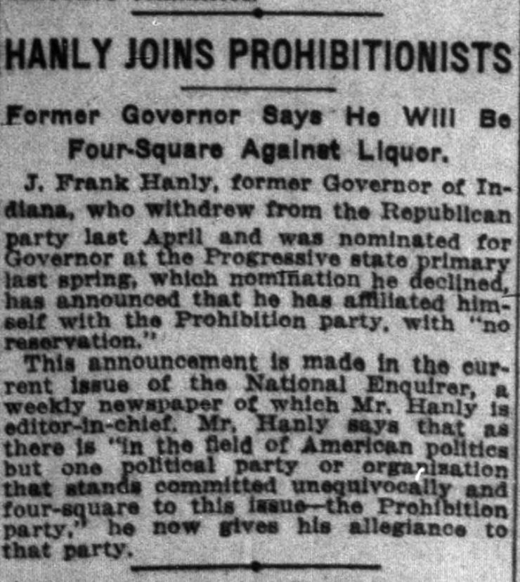 Indianapolis News, June 15, 1916. Courtesy of Hoosier State Chronicles.