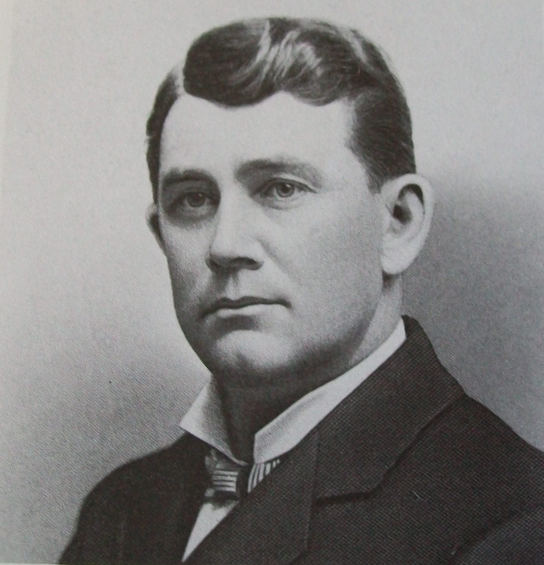 Indiana Governor J. Frank Hanly. Courtesy of WikiCommons.