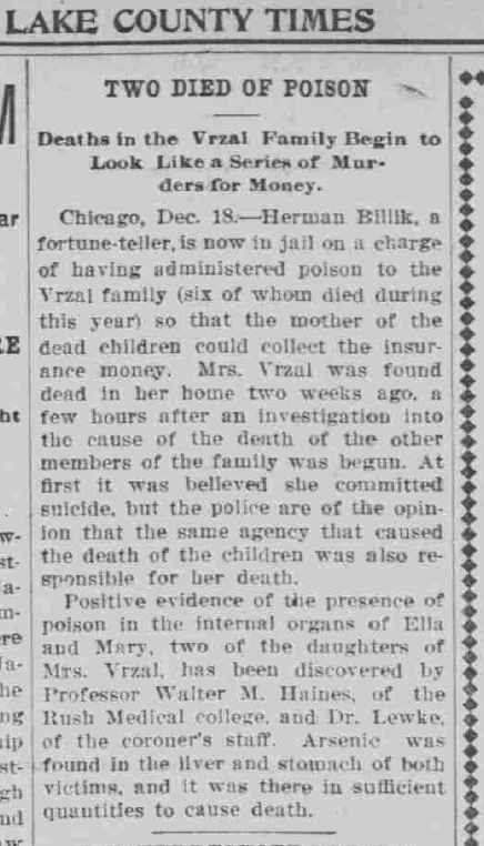 Lake County Times, December 18, 1906, 5, Hoosier State Chronicles