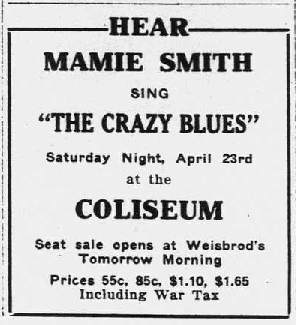 Richmond Palladium and Sun-Telegram, April 19, 1921, 7.