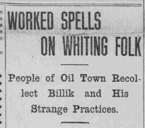 Hammond Times, December 20, 1906, 1, accessed Hoosier State Chronicles.