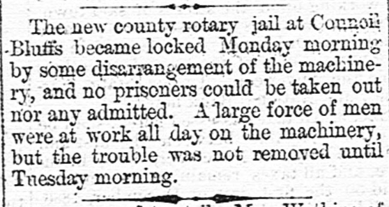 Fairfield News and Herald, November 10, 1886. From Chronicling America.