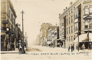 "Image: Pilsen Neighborhood, postcard, circa 1870s, in Frank S. Magallon, ""A Historical Look at Czech Chicagoland,"" Czech-American Community center, accessed https://blog.newspapers.library.in.gov/wp-admin/post.php?post=601634&action=edit"