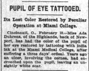 Indianapolis News, February 10, 1900, 6, Hoosier State Chronicles.