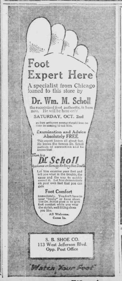 South Bend News-Tribune, October 1, 1920, 2, Hoosier State Chronicles.