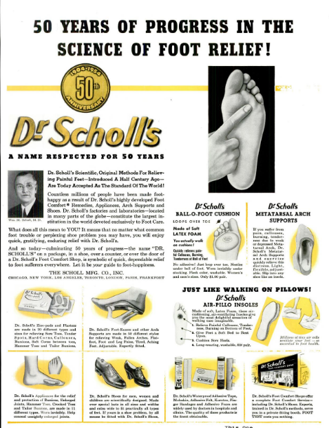 50th Anniversary Advertisement, Life Magazine, June 14, 1954, 3, accessed Google Books.