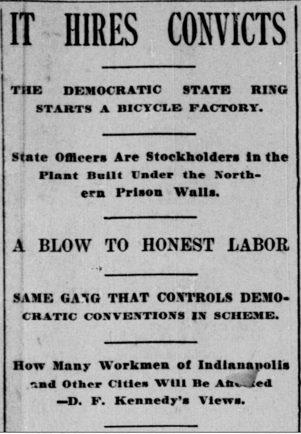 Indianapolis Journal, October 29, 1894, Hoosier State Chronicles.