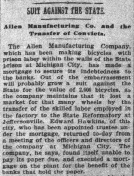 Indianapolis News, October 9, 1897, Hoosier State Chronicles.