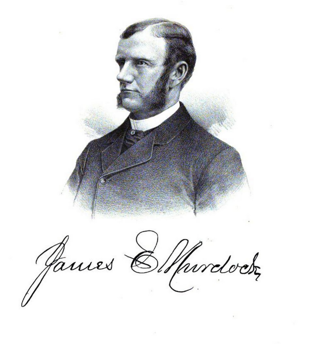 James Murdock, one of the founders of the Allen Manufacturing Company. Biographical Record and Portrait Album of Tippecanoe County, Indiana, Google Books.
