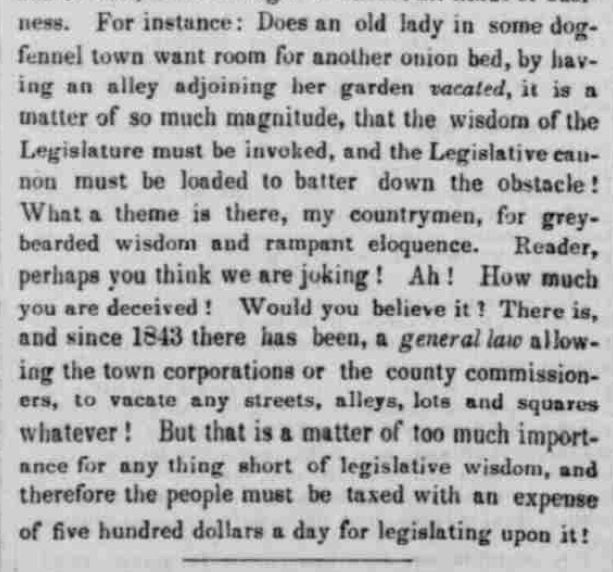 Indiana State Sentinel, March 16, 1848, Chronicling America.